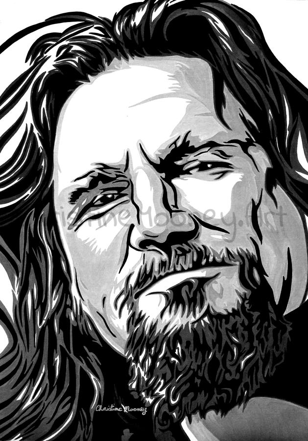 JEFF BRIDGES (THE DUDE - THE BIG LEBOWSKI)