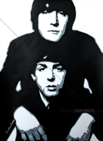 PAUL MC CARTNEY AND JOHN LENNON